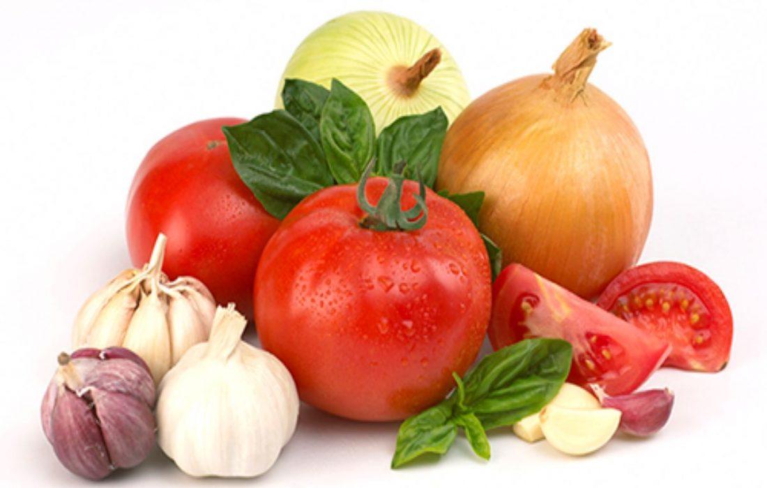 نکاتی در مورد سبزیجات
