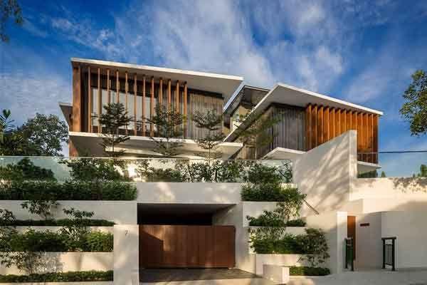 ترمووود بهترین متریال نمای ساختمان