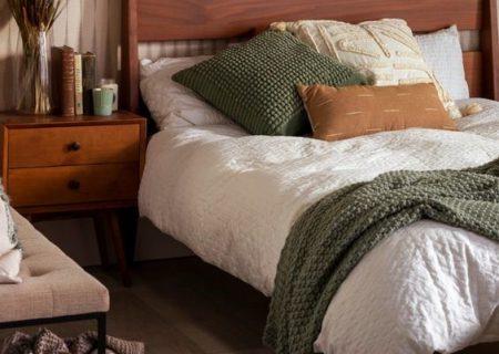 تخت خواب دو نفره ام دی اف بهتره یا چوبی؟